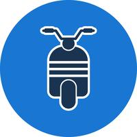 Vector Scooter pictogram