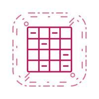 Icono de ajedrez ilustración vectorial