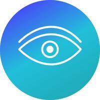 Vector icono de ojo