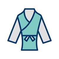 Karate Ikon Vektor Illustration