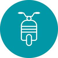 Vector Scooter Icon