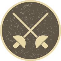 Fencing Icon Vector Illustration