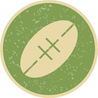 Rugby pictogram vectorillustratie
