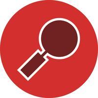 Icono de lupa ilustración vectorial