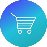 Shopping Cart Icon Vector Illustration
