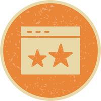 vektorstjärnad ikon