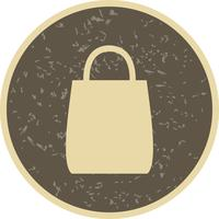Bolsa de compras icono Vector Illustration