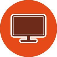 Vector icono de LCD