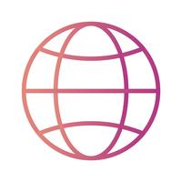 icono de vector web