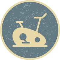 Exercise Bike Icon Vector Illustration