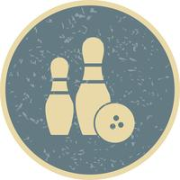 Bowling pictogram vectorillustratie