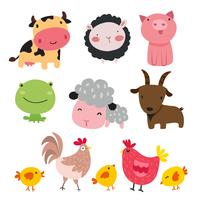 farm vector collection design