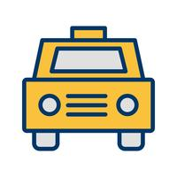 Vector taxi pictogram