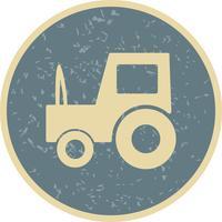Vector icono de tractor