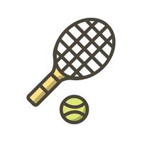 Illustration vectorielle d'icône de tennis