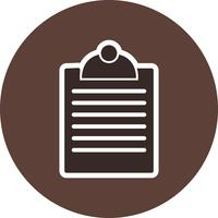 Vector Clipboard Icon