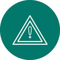 Vector Other dangers Road Sign Icon