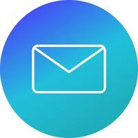 Envelope Icon ilustração vetorial