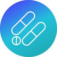 Icona di farmaci di vettore