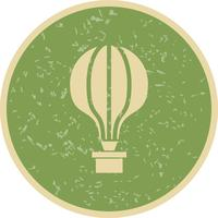 Vector luchtballon pictogram