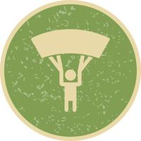 Parachutist Icon Vector Illustration