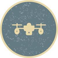 Icône de drone de vecteur