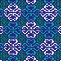 ornate knit pattern