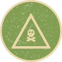 Vector Poison Gas Road Sign Icon