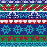 nordic knit border patterns
