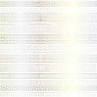 metallic silver fretwork border patterns vector