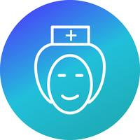 Vector Nurse Icon