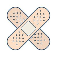 Vector Band Aid Icon