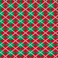 knit argyle pattern