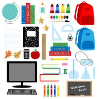 back to school graphics clipart vector