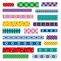 bandana washi tape patterns