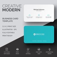 Creatief visitekaartjeontwerp