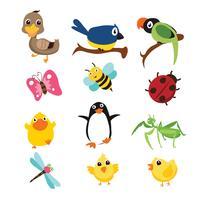 animals vector character design