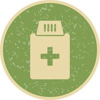 Vector Medicine Bottle Icon