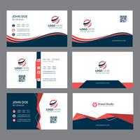 Moderne Unternehmensvisitenkarten