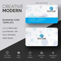 Kreativt visitkortdesign