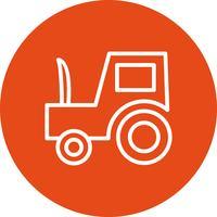 Vector Tractor Icon
