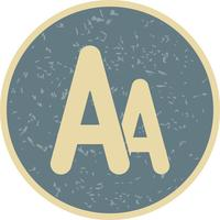 Vector Font Icon