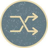 Shuffle Icon ilustração vetorial vetor
