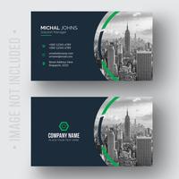 Plantilla de tarjeta corporativa vector
