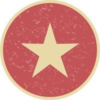 Étoile icône illustration vectorielle