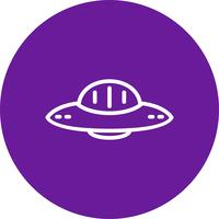 Vector UFO-pictogram