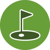 Golf icona illustrazione vettoriale