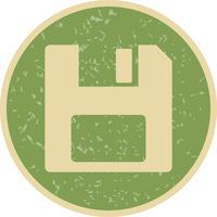 Vector salvar ícone