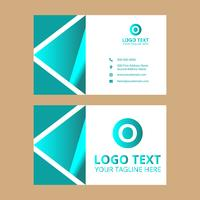 Cyan Business Card 27