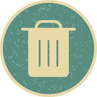 Garbage Icon Vector Illustration